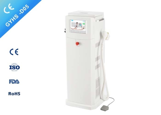 Free Standing Diode Laser Hair Removal Machine , 600W Output Hair Laser Equipment