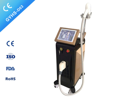 CE Laser Beauty Machine , 12 * 24mm Spot Size Laser Hair Removal Machine For All Skin