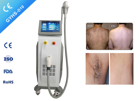 1-15hz Diode Laser Hair Removal Machine 12*12mm Spot Size For Clinic